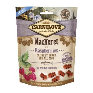 Carnilove Dog Crunchy Snack Mackerel & Raspberries 200 g