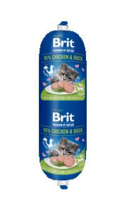 Brit katt köttkorv Chicken & Duck 180 g