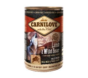 Carnilove Wild Meat Lamb & Wild Boar 400 g