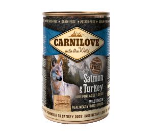 Carnilove Wild Meat Salmon & Turkey 400 g
