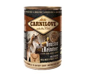 Carnilove Wild Meat Venison & Reindeer 400 g