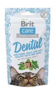 Brit Care Cat Snack Dental kalkon 50 g