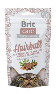 Brit Care Cat Snack Hairball anka 50 g