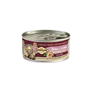 Carnilove White Muscle Meat Turkey & Salmon for Kittens 100 g