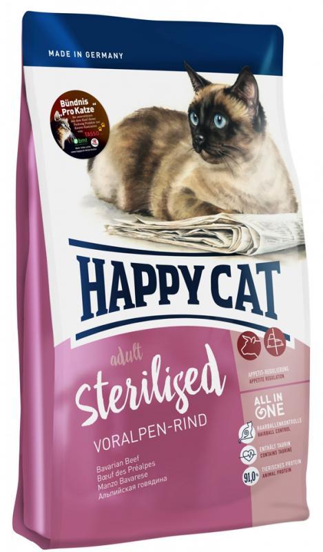 HappyCat Adult Sterilised oxkött