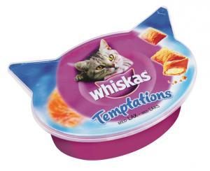 Whiskas Temptations Lax 60 g