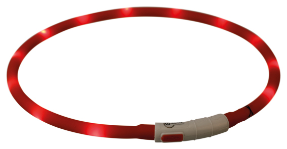 Flash light ring silikon USB, XS-XL 70 cm/10 mm