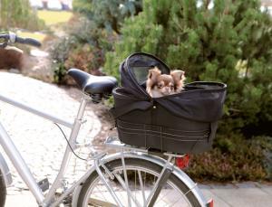 Cykelkorg, 48x29x42 cm, svart