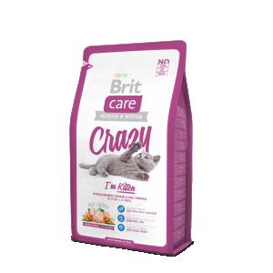 Brit Care Cat Crazy I'm Kitten