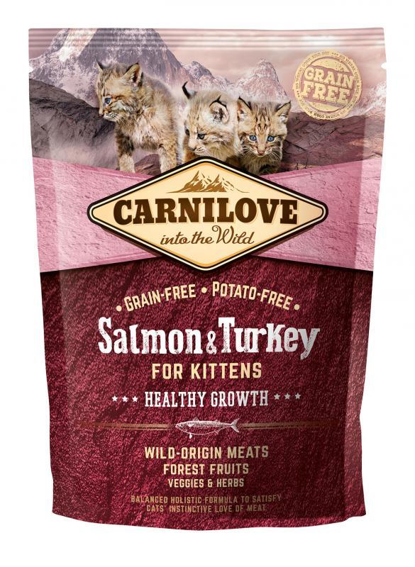 Carnilove Cat Salmon & Turkey - for Kittens