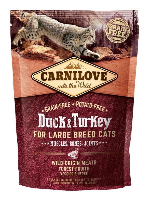 Carnilove Cat Duck & Turkey - for Large Breed