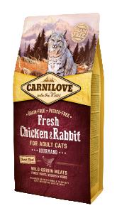 Carnilove Cat Fresh Chicken & Rabbit - Gourmand