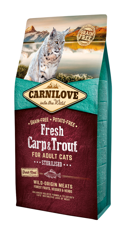 Carnilove Cat Fresh Carp & Trout - for Sterilised