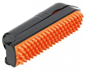 Klädroller med borste 23 cm orange/svart