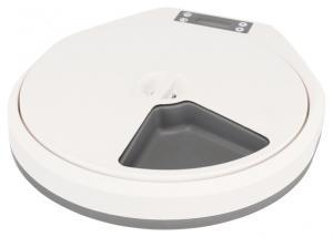 TX4+1 Foderautomat, 5 x 240 ml / 33 x 5 x 36 cm, vit/grå