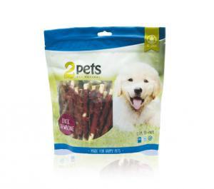 2pets tuggpinne med ankfilé 400 g, 30-pack