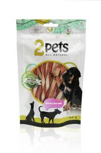 2pets Chicken & Fish Twist 100 g