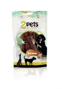 2pets Dogsalami Beef 100 g