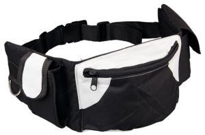 Baggy Belt midjeväska svart/grå 62-125 cm