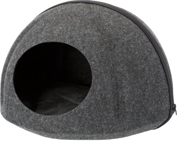 Evi igloo, filt antracit, 43 x 32 cm