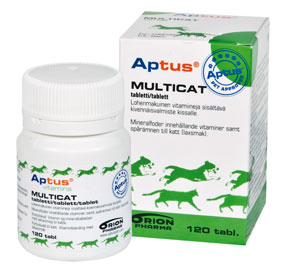 Aptus Multicat tabletter120 st