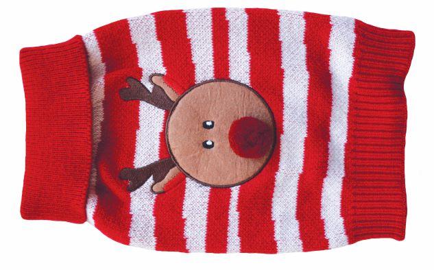 Cozy Knit PomPom Reindeer