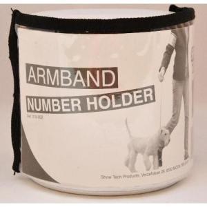 Nummerlappshållare för arm, Showtech