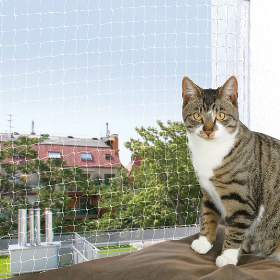 Cat Protect Kattnät Transparent