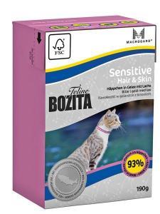 Bozita Feline Sensitive Hair & Skin tetra 190 g