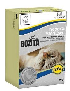 Bozita Feline Indoor & Sterilised tetra 190 g