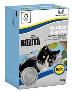 Bozita Feline Outddor & Active tetra 190 g