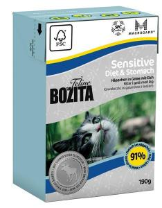 Bozita Feline Sensitive Diet & Stomach tetra 190 g