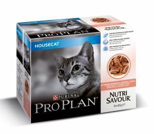 Purina Pro Plan Cat Housecat Salmon wet 10x85 g