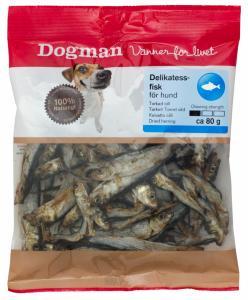 Delikatessfisk till hund 80 g