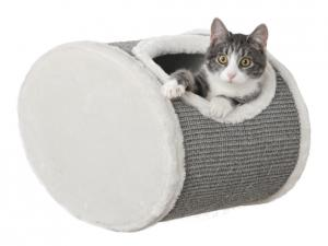 Kattgrotta för väggmontering, 42x29x28 cm, creme