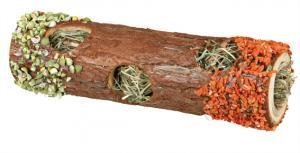 """""""NL"""" Gnagartunnel trä med fyllning 20 cm"""