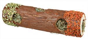 """""""NL"""" Gnagartunnel trä med fyllning 30 cm"""