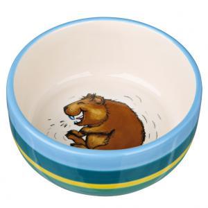 Keramikskål marsvin, 250 ml/ø 11 cm, multi