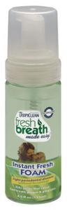 Tropiclean Fresh Breath Mint Foam 133 ml
