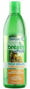 Tropiclean Fresh Breath Water Additive Skin&Coat 473 ml