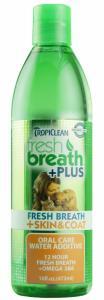 Tropiclean Fresh Breath Water Additive Skin&Coat 473 ml