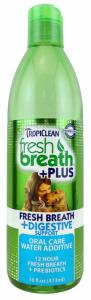 Tropiclean Fresh Breath Water Additive Digestive 473 ml