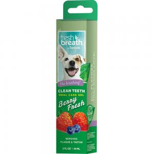 Tropiclean Fresh Breath Oral Care Berry Gel 59 ml
