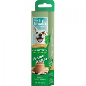 Tropiclean Fresh Breath Oral Care Peanut Butter Gel 59 ml