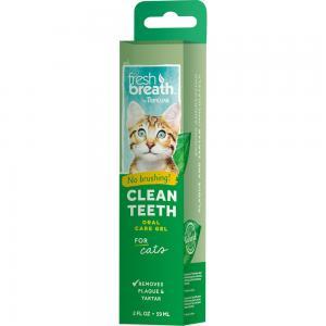 Tropiclean Fresh Breath Oral Care Gel for Cats 59 ml