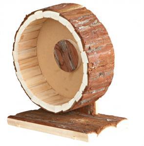 Hamsterhjul i trä, 20 cm