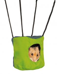 Hamsterkoja nylon hängande 9,5x10 cm