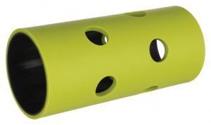 Foderrulle gnagare, plast/TPR ø 5.5x12 cm, grön