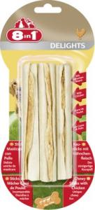 8in1 Delights Sticks Chicken, 3 st