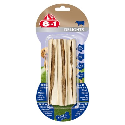 8in1 Delights Sticks Beef, 3 st